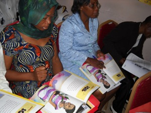 PACE materials being assessed at seminar in Bamenda, Cameroon