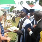 Graduation day at Ggaba college