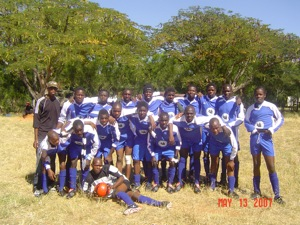 African wild dog football team