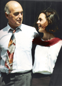 Ken Norris with Siren founder, Sasha Norris