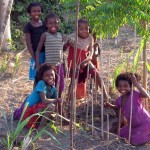 Children from Ranobe Village